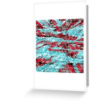 abstract abnormality rb Greeting Card