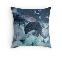 You cannot frost time... Throw Pillow