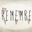 I Remember by Denise Abé