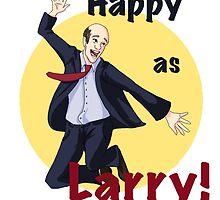 Happy as Larry by wildmagelet