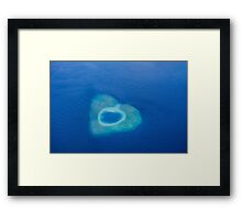 Postcard from the Maldives Framed Print