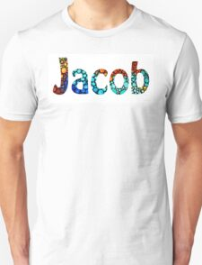 Customized Baby Kids Adults Pets Names - Jacob 2 Name T-Shirt