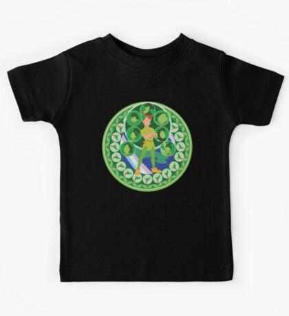 Peter Pan: Kingdom Hearts Style Kids Tee