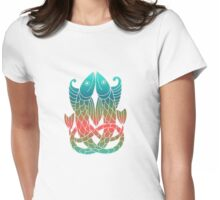 Celtic Knot Fish  Womens Fitted T-Shirt