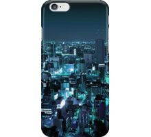 Osaka City by Night iPhone Case/Skin