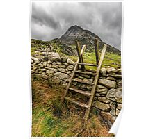 View Of Tryfan  Poster