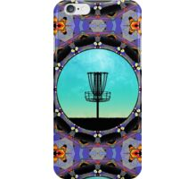 Disc Golf Abstract Basket 3  iPhone Case/Skin