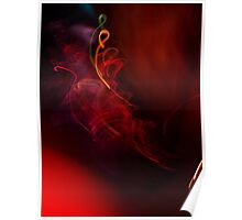 light squiggle  Poster