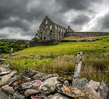 Ynys-y-Pandy Slate Mill by Adrian Evans