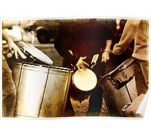 Vieja Drums Poster