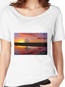 'Sunrise for the Soul' Women's Relaxed Fit T-Shirt