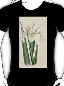 The Botanical magazine, or, Flower garden displayed by William Curtis V1 V2 1787 1789 0134 Iris Ochroleuca, Tall Iris T-Shirt