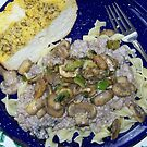 Fresh Mushroom Stroganoff by BettyEDuncan