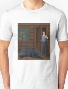 A Bear in the Woods - Vincent & Christian T-Shirt