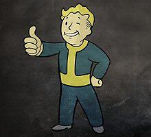 Fallout - Vault Boy by Tharkenta