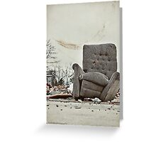 Abandoned Comfort Greeting Card
