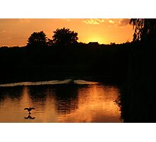 Lake of Fire Photographic Print