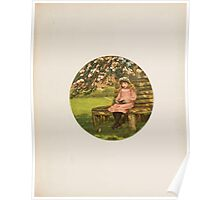 Rhymes for the Young Folk William and Hellen Allingham art Kate Greenaway 0045 Amy Poster