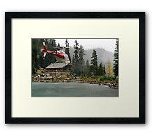 Golden Bullseye Framed Print