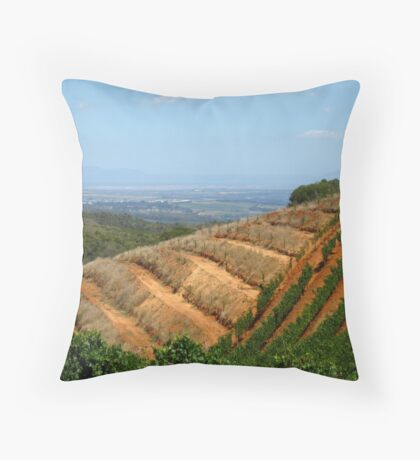 Winelands Throw Pillow