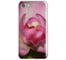 a magenta Orchid iPhone Case/Skin