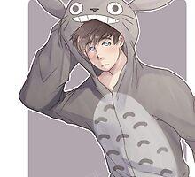 Totoro Onesie by Didyoujustboop