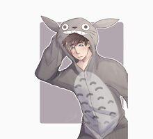 Totoro Onesie Mens V-Neck T-Shirt