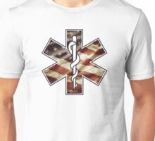 Star of Life America Weathered (EMS) Unisex T-Shirt
