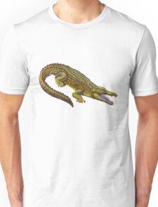 Vintage Crocodile Illustration Unisex T-Shirt