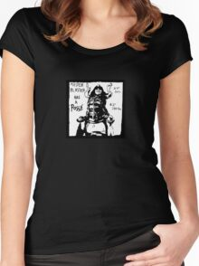 Master Blaster has a Posse Women's Fitted Scoop T-Shirt