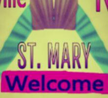 St. Mary Sticker