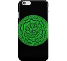 Retro green  iPhone Case/Skin