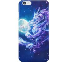 Moon Dragon from Trivia from Nature comic iPhone Case/Skin