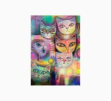 Mother cat and kittens T-Shirt