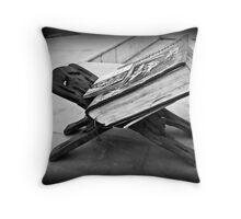 Lost Faith Throw Pillow
