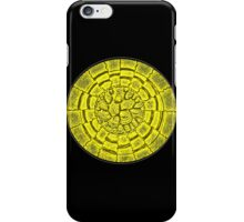 Retro yellow iPhone Case/Skin