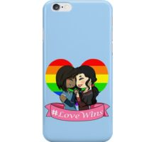 #LoveWins iPhone Case/Skin