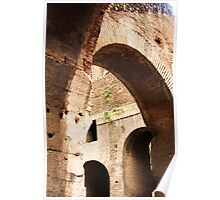 Archways in the Coliseum Poster