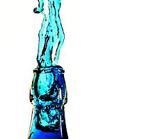 Water Bottle Sculpture 7 by cyclicquad