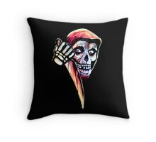 The Halloween Fiend Throw Pillow