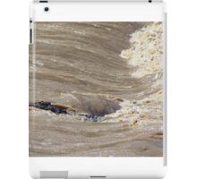 Surfing Crocodile iPad Case/Skin