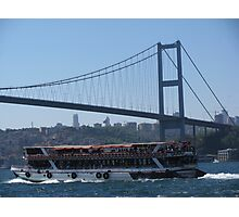 Bosphorus Bridge_İstanbul-TURKEY Photographic Print