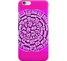 Retrocircle pink iPhone Case/Skin