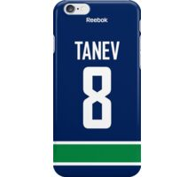 Vancouver Canucks Christopher Tanev Jersey Back Phone Case iPhone Case/Skin
