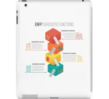 ENFP Sarcastic Functions iPad Case/Skin