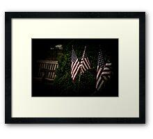 Patriot Games Framed Print