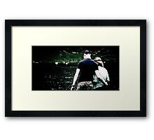 Stolen Moment Framed Print