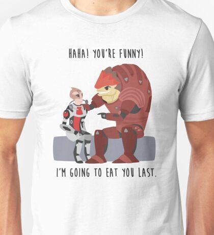 Mass Effect - Wrex and Mordin Unisex T-Shirt