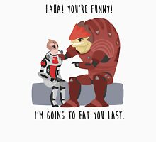 Mass Effect - Wrex and Mordin Unisex T-Shirt