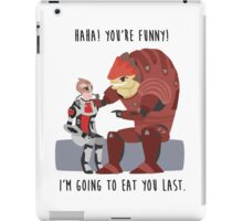 Mass Effect - Wrex and Mordin iPad Case/Skin